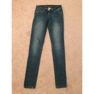 Blue denim jegging jeans- size 1